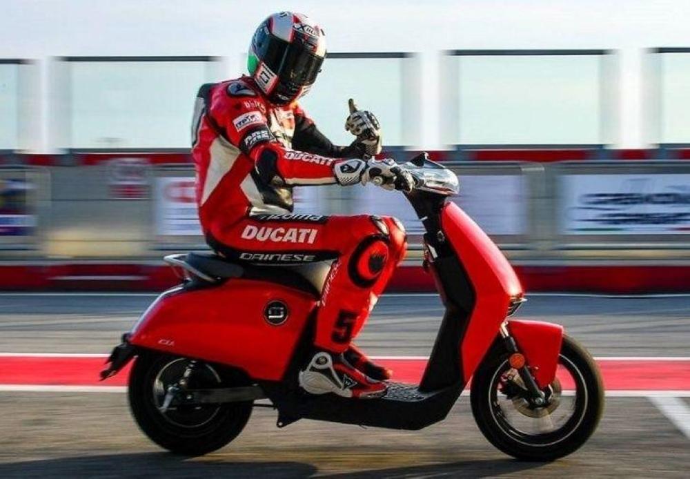 Ducati fabricaría un scooter eléctrico, el CUx