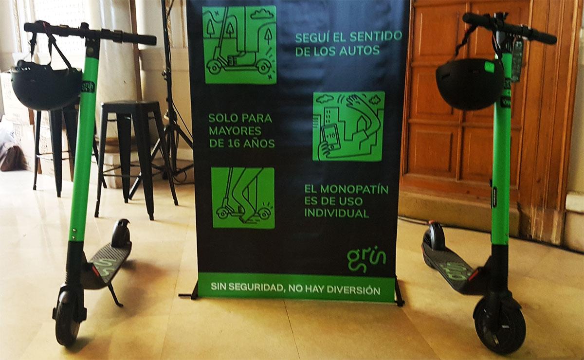 Grin llegó a Buenos Aires con sus monopatines eléctricos: precios y como se utiliza