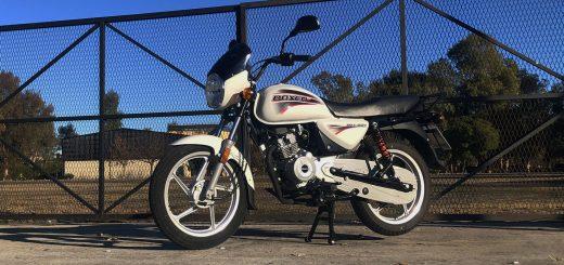 Test Ride Bajaj Boxer BM 150