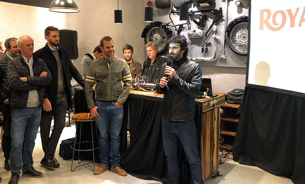 Apertura de un nuevo local Royal Enfield en Pilar