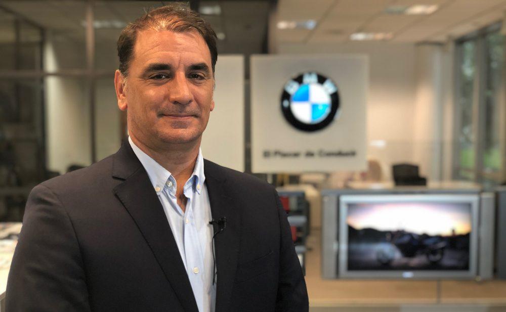 Sebastián Centeno, Gerente de BMW Motorrad Argentina