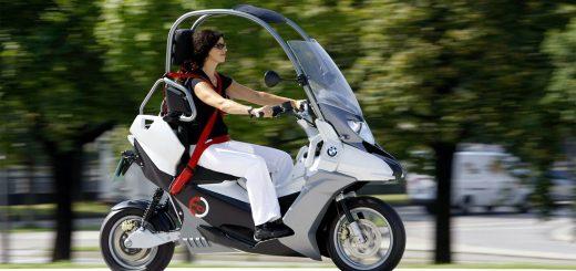 Filtrado: el BMW C1 podría volver de la mano del scooter eléctrico C Evolution