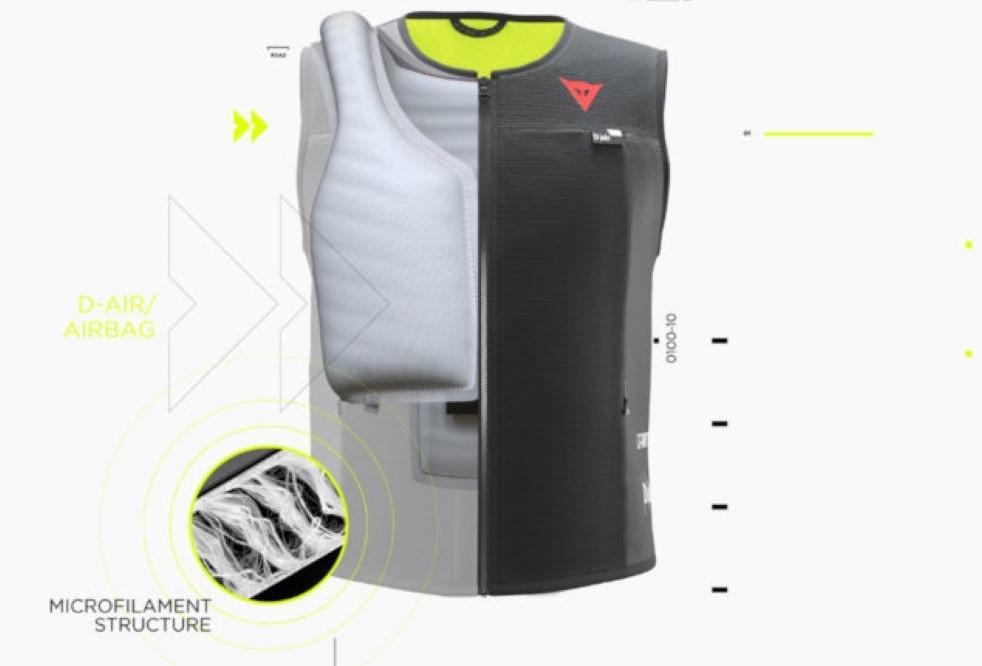 Nuevo chaleco DAINESE con Airbag