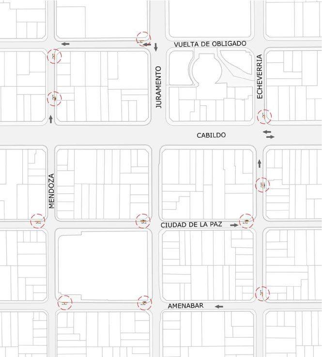 El Gobierno de la Ciudad propone lugares exclusivos para estacionar motos en barrios de la ciudad