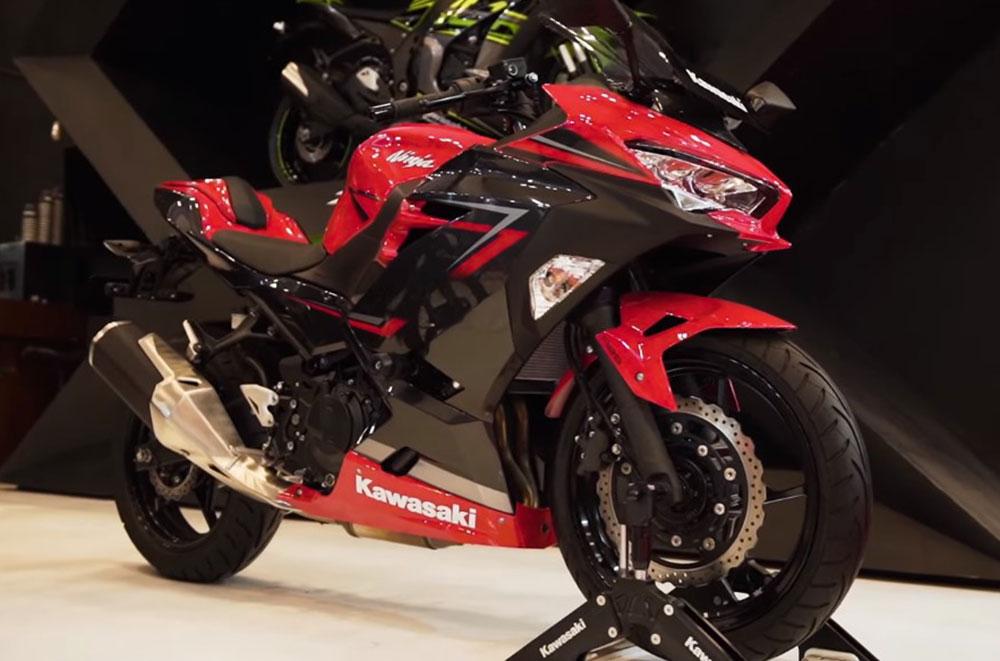 La nueva Kawasaki Ninja 250 se presentó en Indonesia