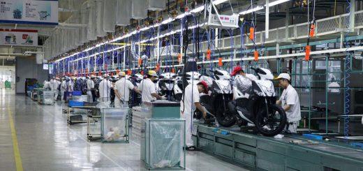 KYMCO abre su fábrica más grande en China