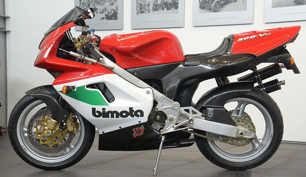 Joyas del motociclismo: Bimota 500 VDue