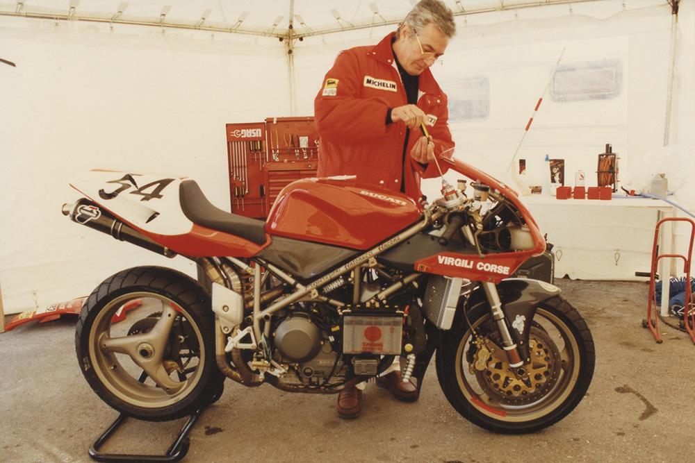 "La Ducati 916 ""Massimo Tamburini"" se exhibirá en el Museo Ducati"