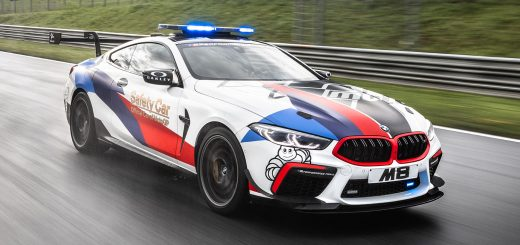 BMW M8 MotoGP Safety Car con 625 CV