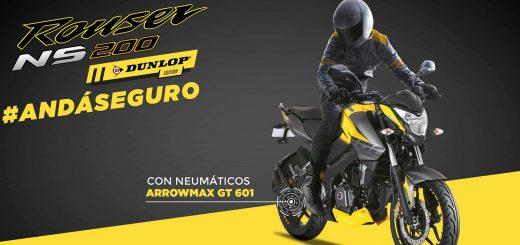 Bajaj Rouser NS200 Dunlop Edition desde $149.990