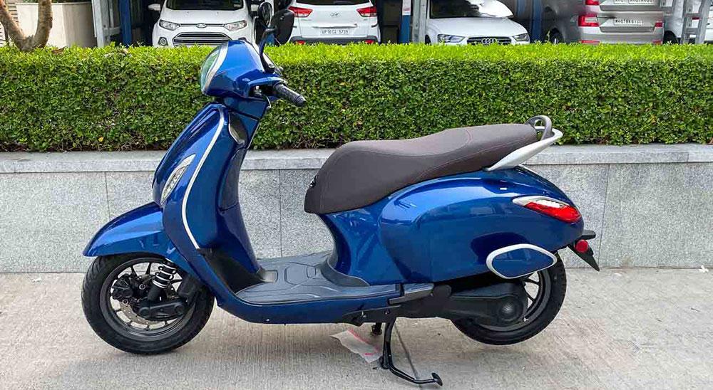 Chetak, el scooter eléctrico de Bajaj