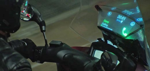 Sistema Head-Up Display patentado por Honda