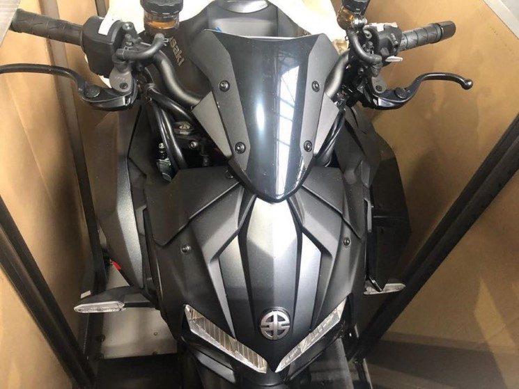 Se filtraron fotos de la Kawasaki Z H2 2020