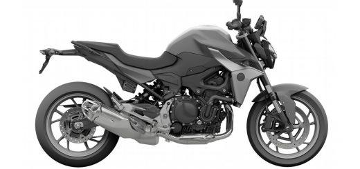 Moto inédita de BMW registrada en Brasil