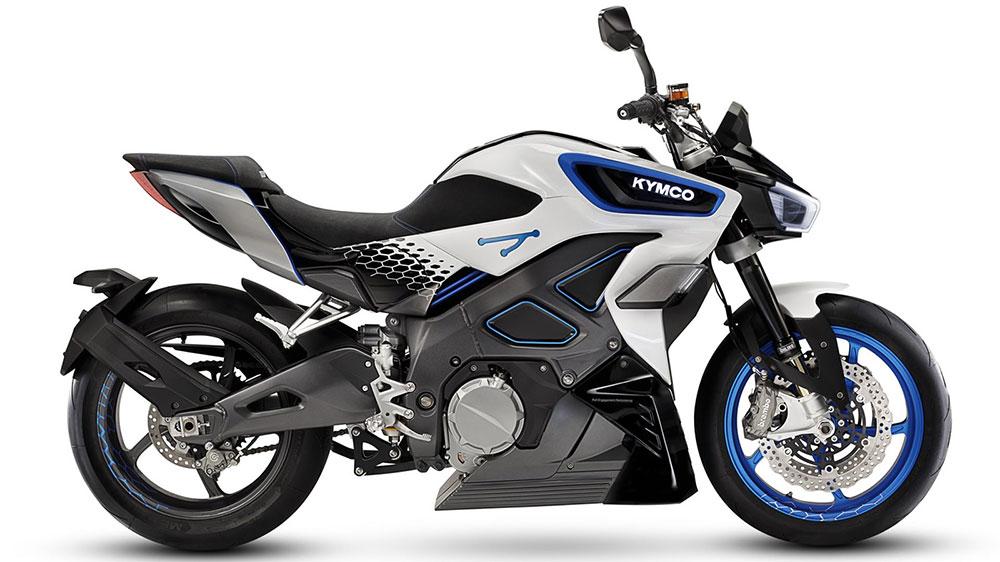 Así es la RevoNEX, la moto eléctrica de Kymco que alcanza