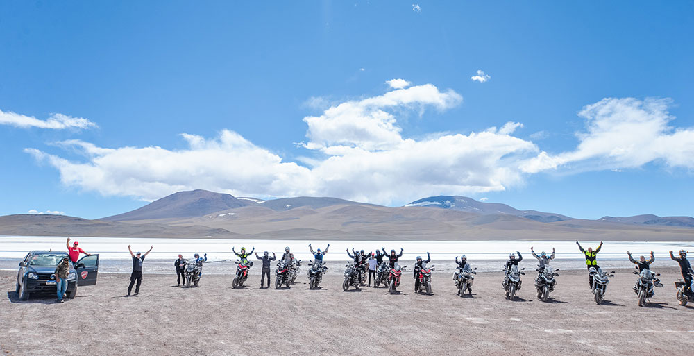 Ducati Touring Experience en Laguna Brava