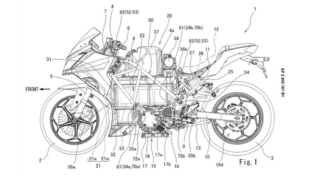 Kawasaki confirmó la llegada de una moto eléctrica