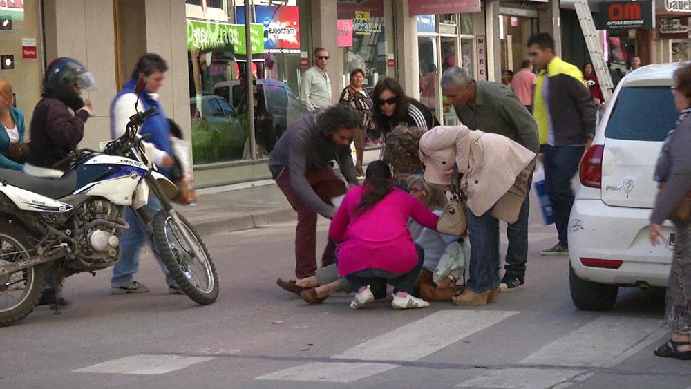 ATM: qué hacer ante un accidente de moto