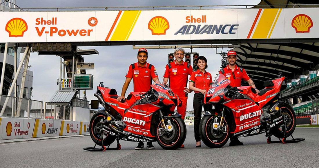 Shell y Ducati renuevan su compromiso de trabajo en conjunto hasta el 2022