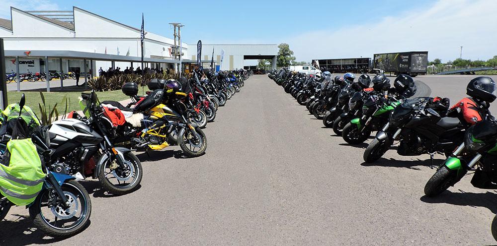 Más de 150 usuarios visitaron la planta de Corven Motos