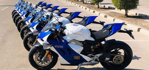 Ducati Panigale V4 R policia Abu Dhabu