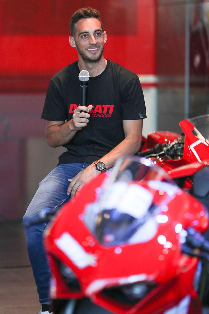 """Tati"" Mercado estará en el WSBK de la mano de Ducati"