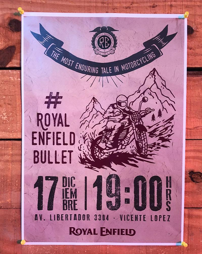 Lanzamiento Royal Enfield Bullet Trial 500 Edición Limitada a u$s 6.999
