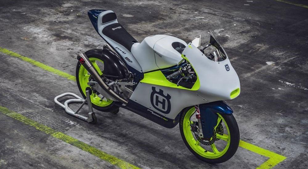 Husqvarna regresa al Mundial de Moto3 con las FR 250 GP