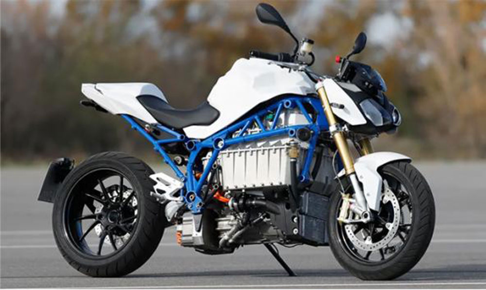 Motos eléctricas BMW con carga Wireless