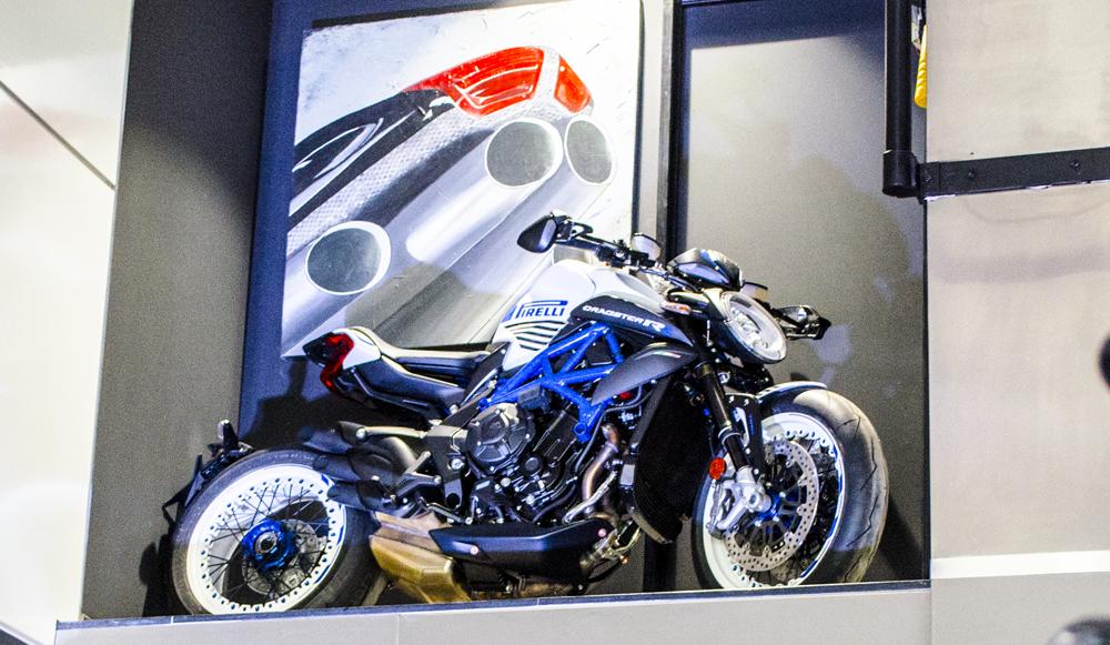 MV Agusta inauguró un nuevo Showroom en Pilar