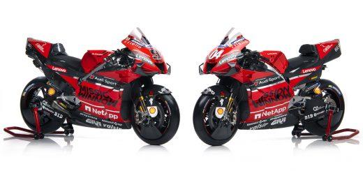 MotoGP: Ducati presentó su equipo oficial Mission Winnow 2020