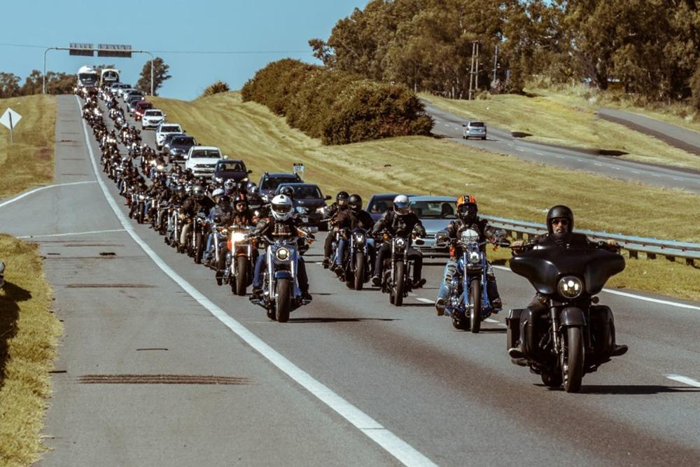 Primera travesía oficial Harley-Davidson® del 2020