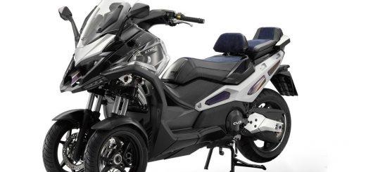 Kymco también tendrá su scooter de 3 ruedas, el CV3