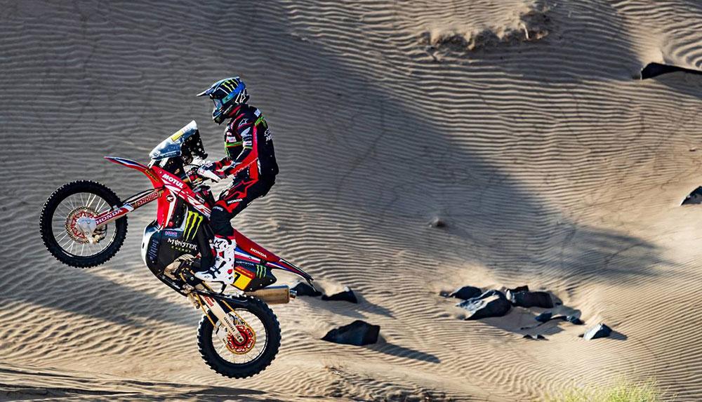 Dakar 2020: Kevin Benavides está segundo en la general