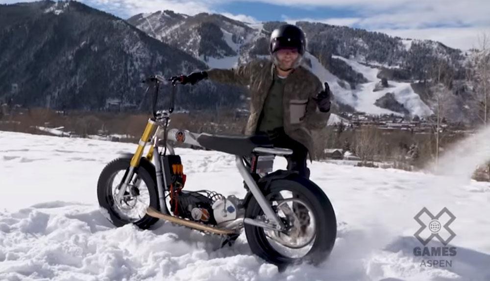 Nuevo scooter eléctrico de Harley-Davidson