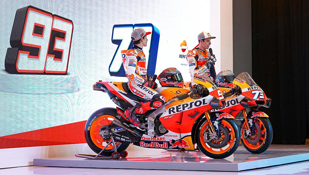 Los hermanos Márquez juntos en el MotoGP 2020