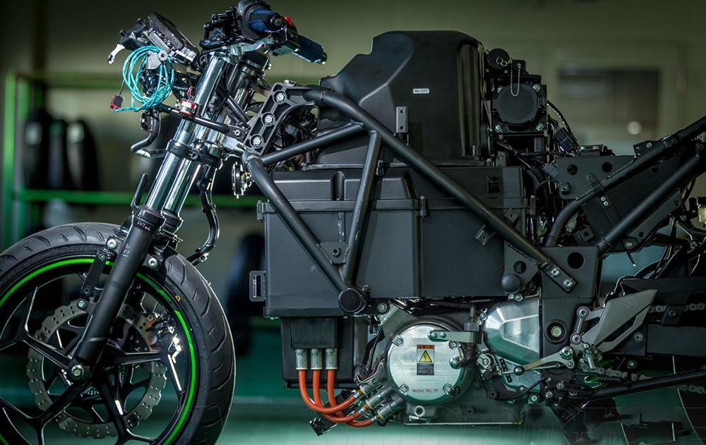 La eléctrica de Kawasaki ya tiene nombre: EV Endeavor