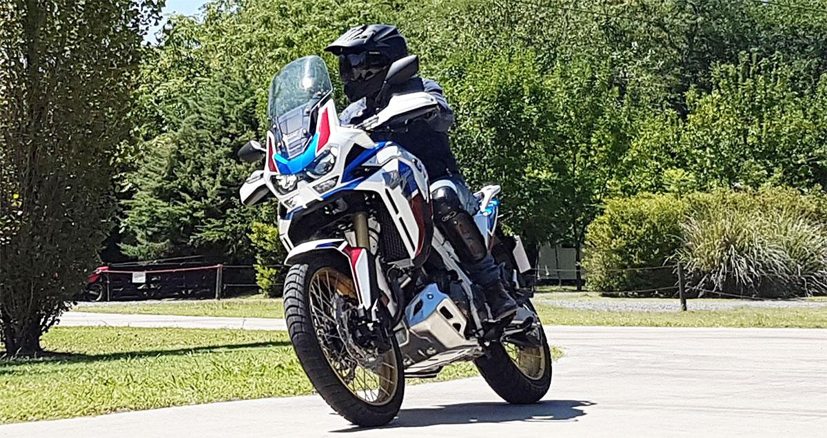 Toma de contacto nueva Honda CRF 1100L África Twin 2020