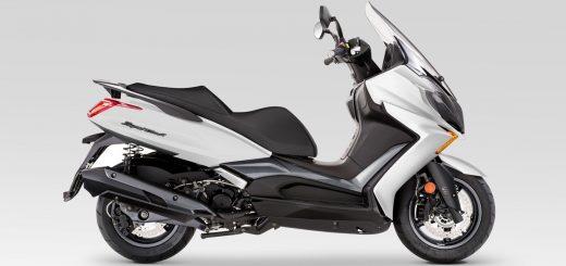 Se lanzó en Europa el scooter Kymco Super Dink 350 TCS