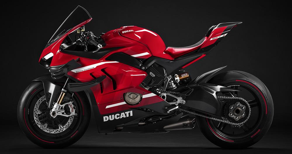 Ducati presentó en exclusiva la Superleggera V4 Edición Limitada