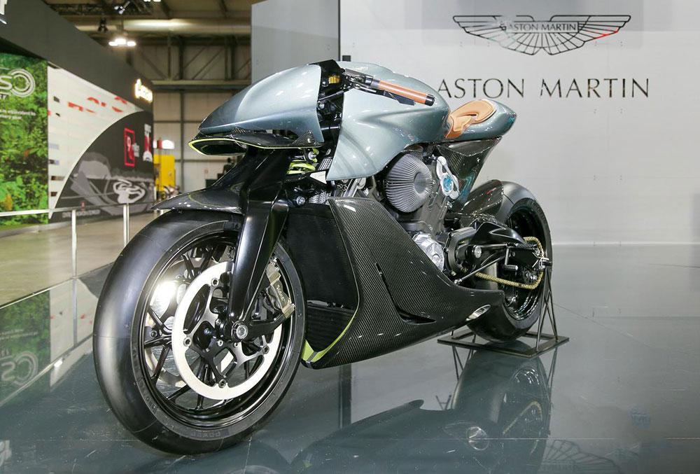 Aston Martin AMB 001, la primera moto de la marca inglesa