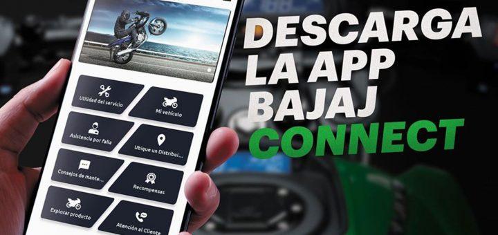 Bajaj presenta su app Bajaj Connect