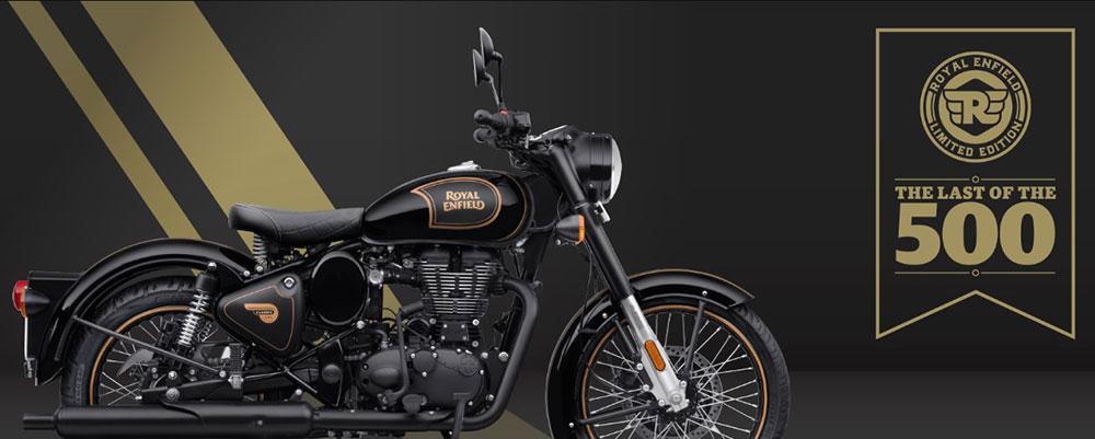 Royal Enfield dejará de fabricar el motor de 500 cc y lo celebra con una edición limitada de la Classic