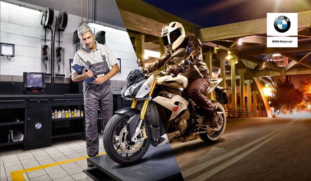 BMW Motorrad: retiro y entrega de motos a domicilio para realización de mantenimiento