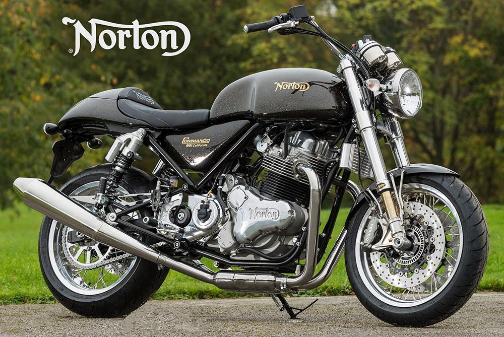 TVS podría ser la nueva propietaria de Norton Motorcycles