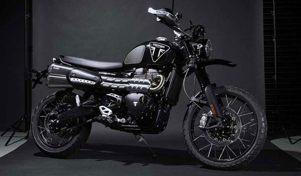 Triumph Scrambler 1200 James Bond Edition