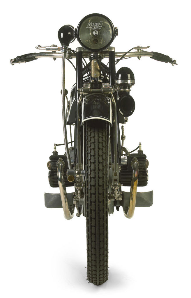 Conocé la BMW R32 de 1923, la primera moto BMW