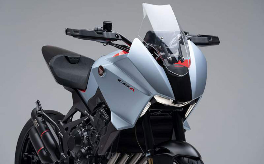 El concept Honda CB4X cada vez más cerca