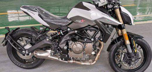 Benelli SRK600: el reemplazo de la TNT600 ya es un hecho