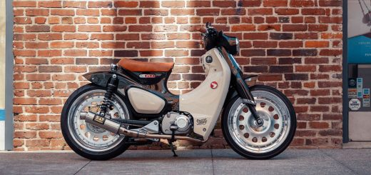 Honda C125 Super Cub customizada